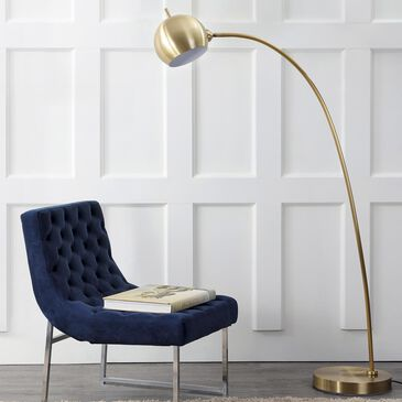 Safavieh Belami Floor Lamp in Gold, , large
