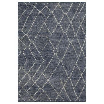 Karastan Tangier RG192-3259 5' x 8' Spartel Blue Steel Area Rug, , large