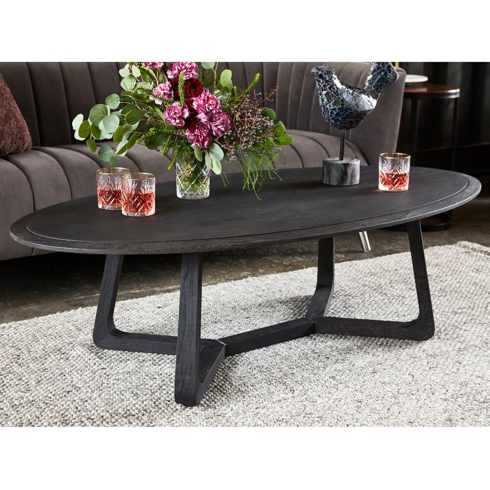 Moe's Home Collection Nathan Coffee Table in Black, , large
