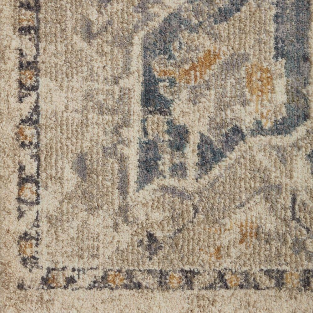 """Magnolia Home Janey JAY-01 6'7"""" x 9'2"""" Natural and Indigo Area Rug, , large"""