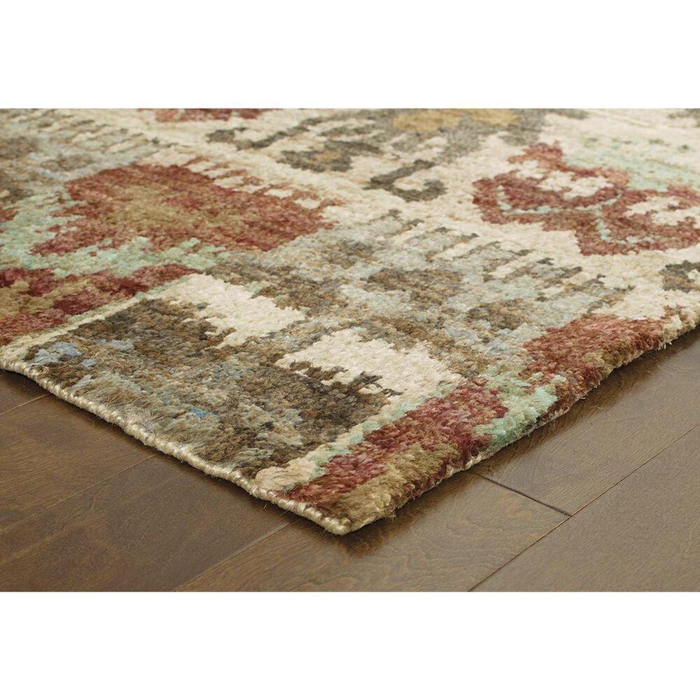 Oriental Weavers Ansley 50902 8' x 10' Beige Area Rug, , large
