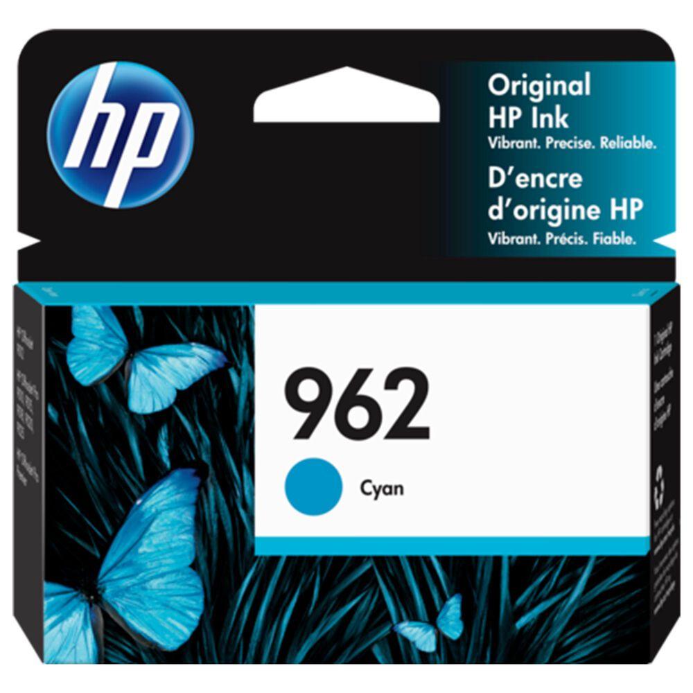 HP HP 962 Cyan Original Ink Cartridge, , large