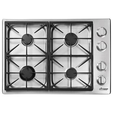 """Dacor Heritage 30"""" Professional Gas Cooktop with Liquid Propane in Stainless Steel, , large"""