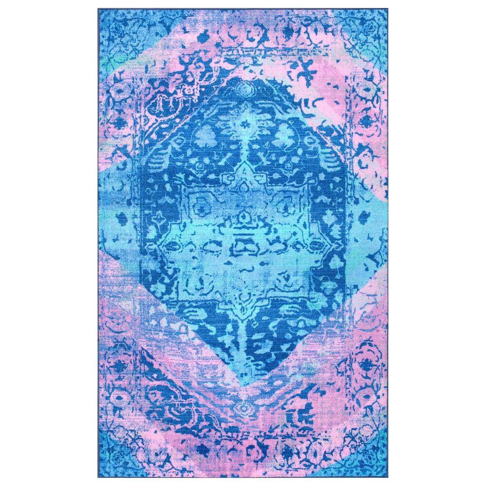 nuLOOM Giza MCGZ29B 5' x 8' Blue Area Rug, , large