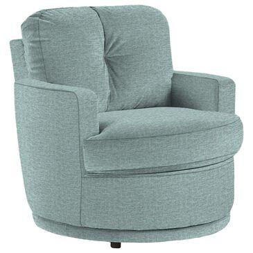 Best Home Furnishings Skipper Swivel Chair in Powder, , large