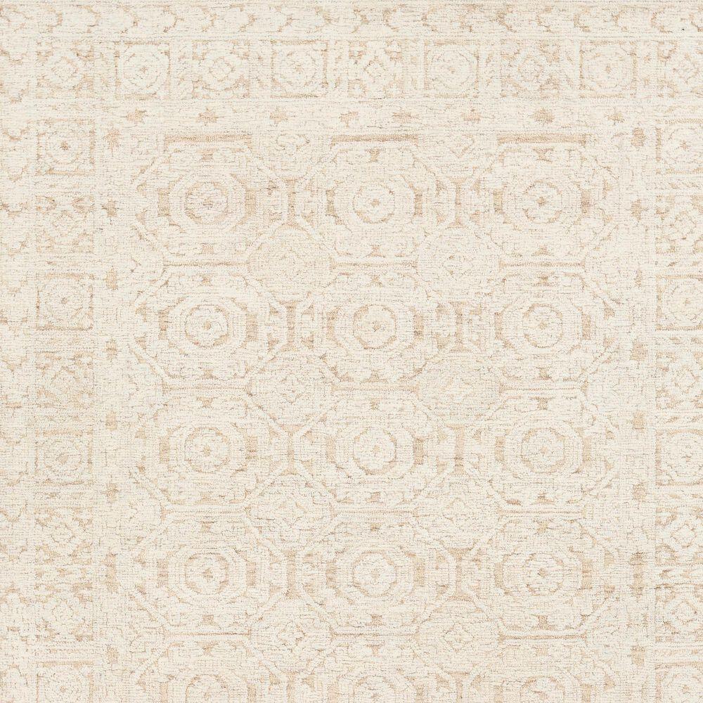 Surya Louvre LOU-2301 8' Round Khaki and Cream Area Rug, , large