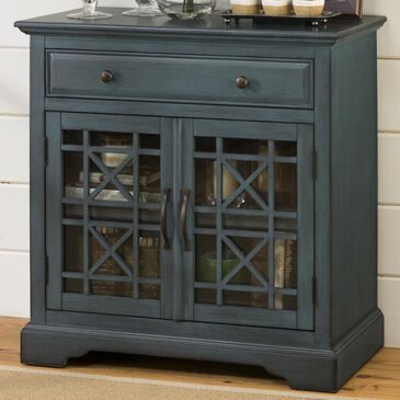at HOME Craftsman Accent Chest in Antique Blue, , large