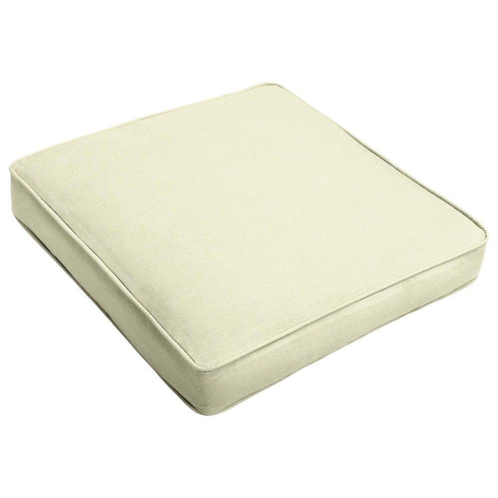 "Sorra Home Sunbrella 20"" Cushion in Canvas Natural, , large"