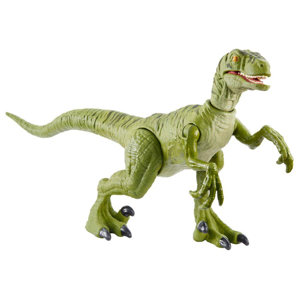 Jurassic World Savage Strike Velociraptor Charlie Action Figure, , large
