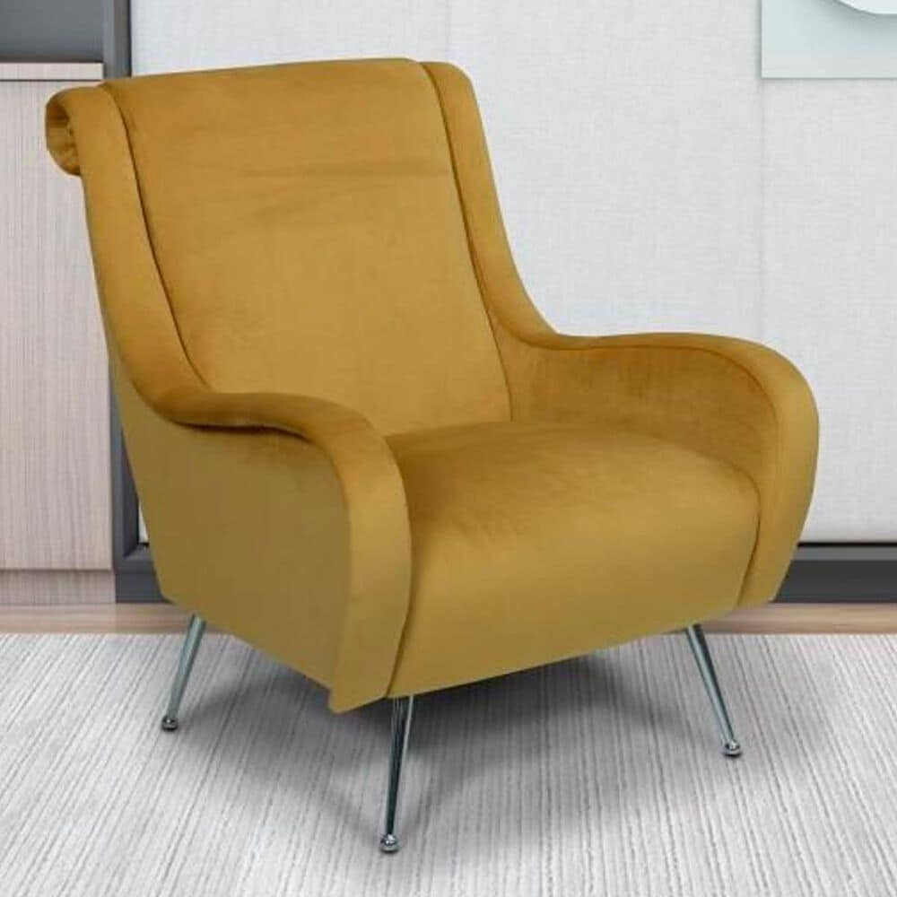 Trend Labs Florence Chair in Gold, , large