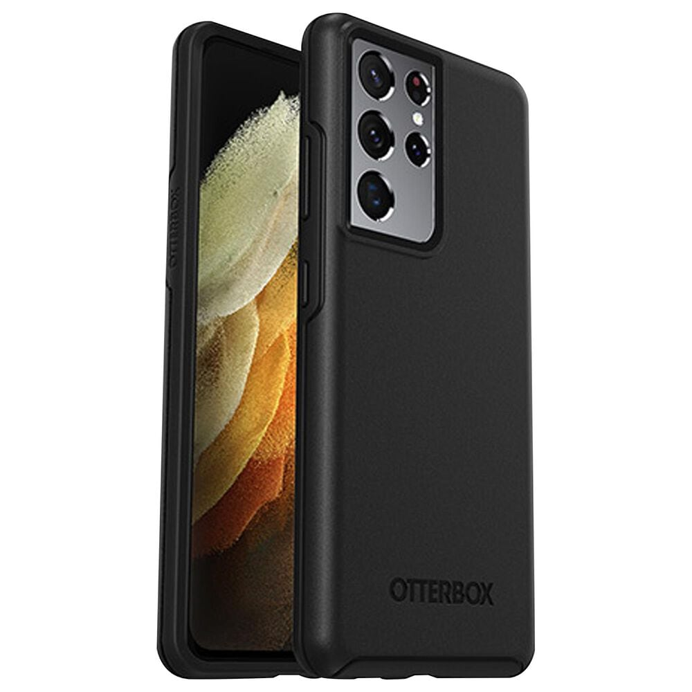 Otterbox Symmetry Series Case for Galaxy S21 Ultra 5G in Black, , large
