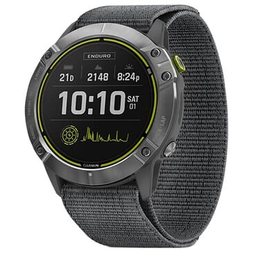 Garmin Enduro Smartwatch 35mm in Steel and Gray, , large