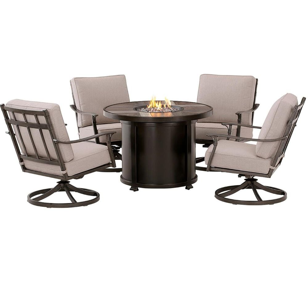 Clear Creek Collection 5-Piece Fire Pit, , large