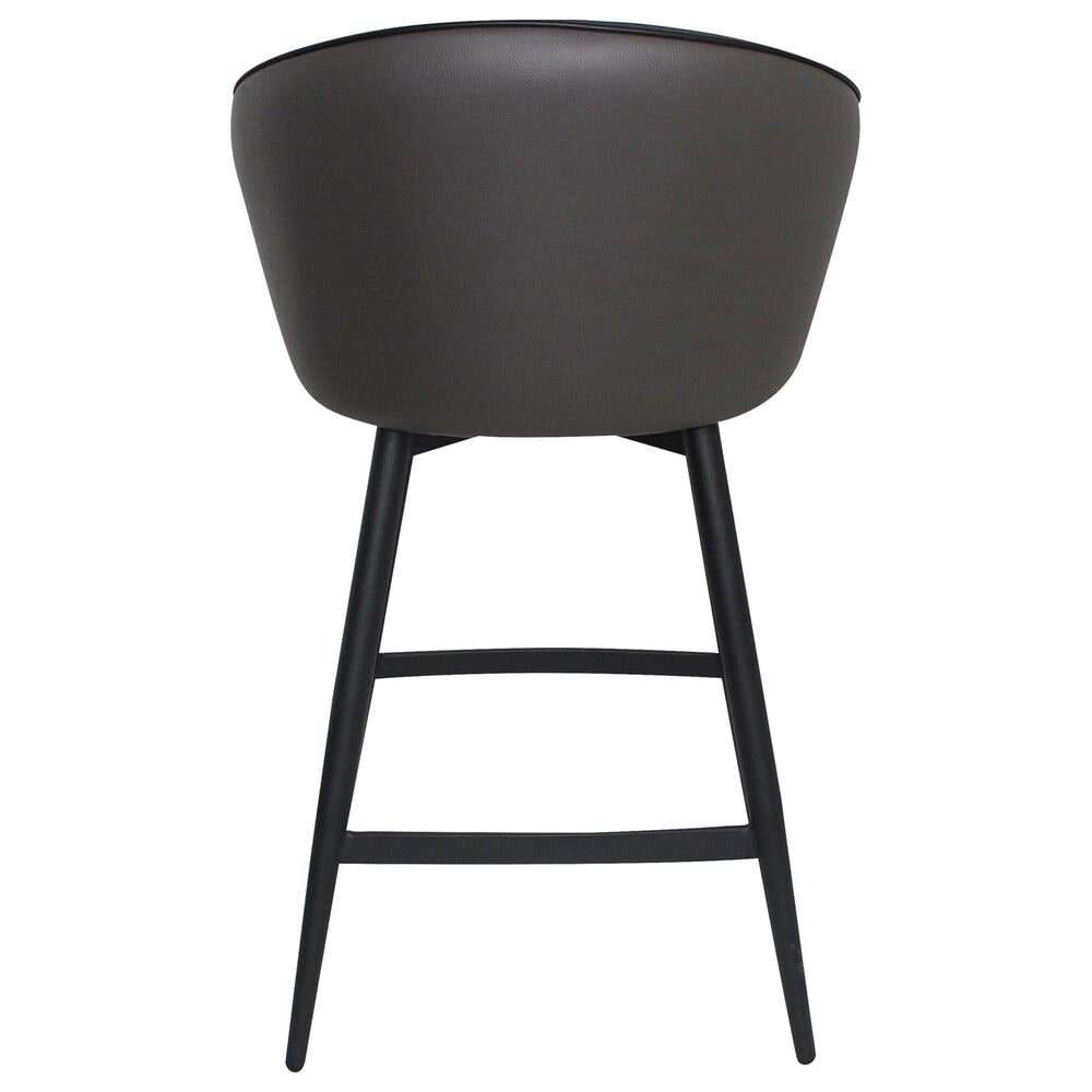 Moe's Home Collection Webber Swivel Counter Stool in Grey, , large