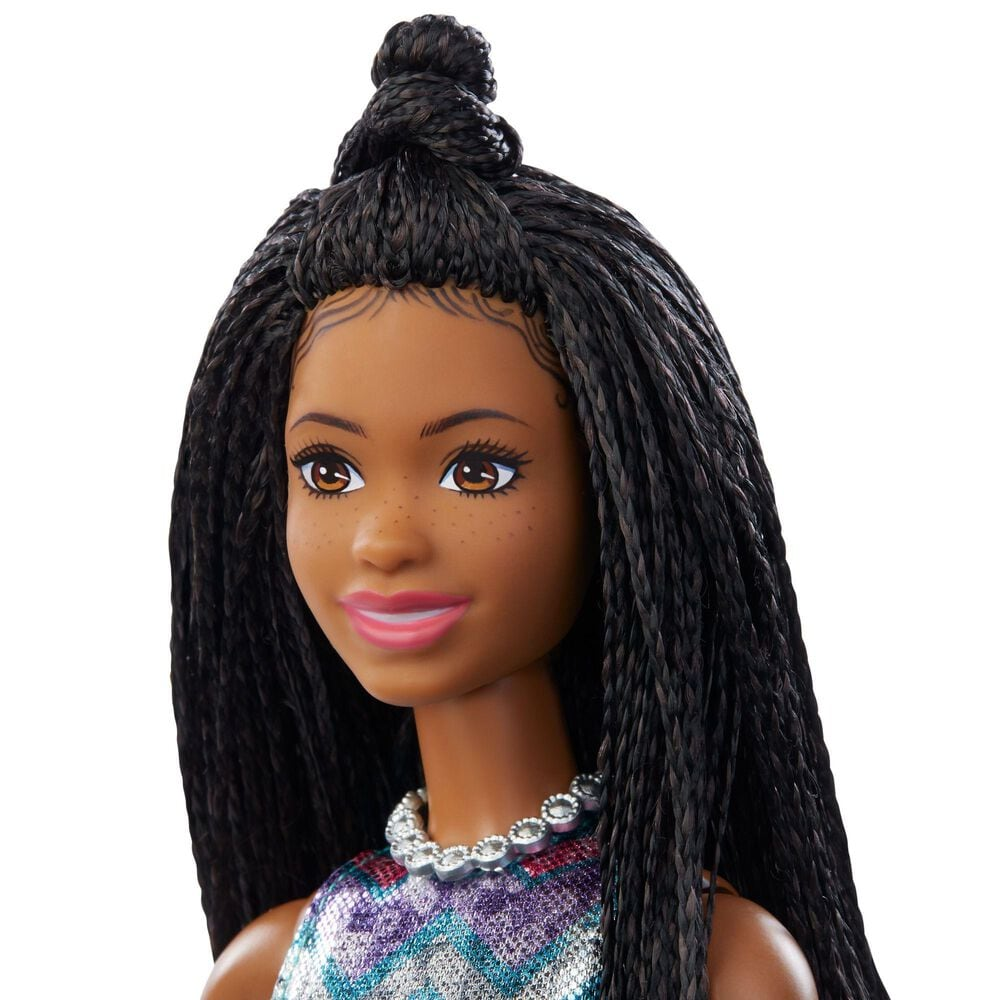 Barbie Singing Barbie Doll Brunette with Music and Light-Up Features, , large
