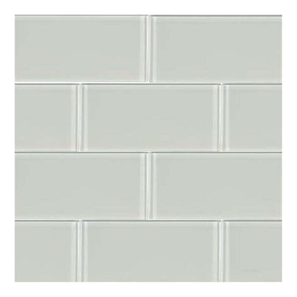 "MS International Arctic Ice 12"" x 12"" Glass Mosaic Sheet, , large"