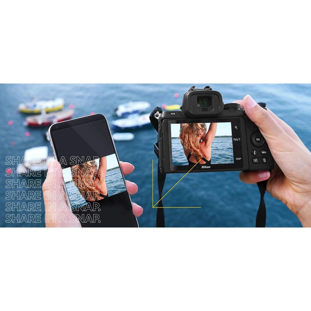 Nikon Creator's Kit with Z50 Digital SLR Cameras and Z DX 16-50mm f/3.5-6.3 Lens, , large