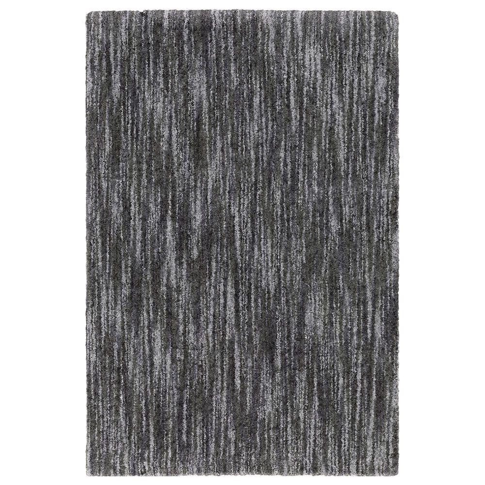 "Oriental Weavers Aspen Distressed Shag 829K9 5'3"" x 7'6"" Charcoal Area Rug, , large"