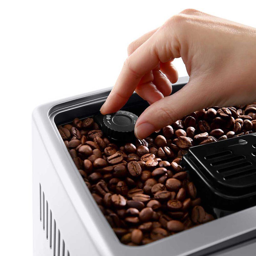 Delonghi Dinamica Automatic Coffee and Espresso Machine in Silver, , large