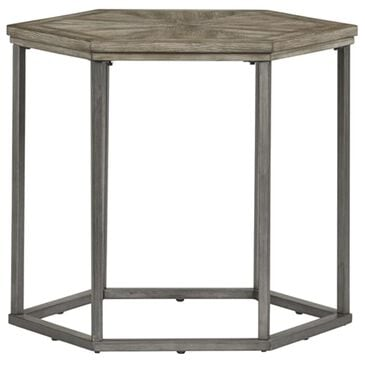 Tiddal Home Adison Cove End Table in Ash Blonde, , large