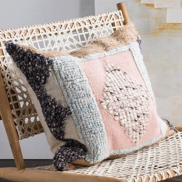 "Safavieh Arden 20"" Pillow in Pink, , large"