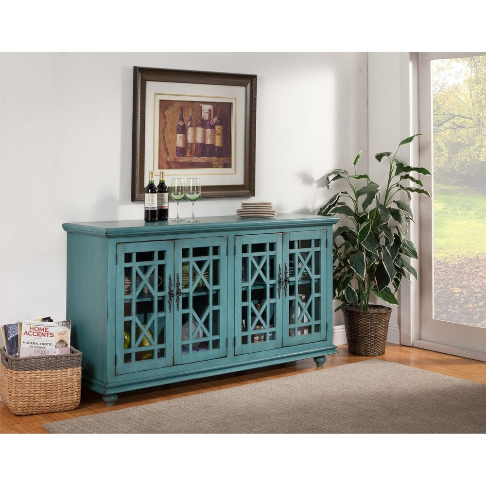 Martin Svensson Home Jules TV Stand in Teal, , large