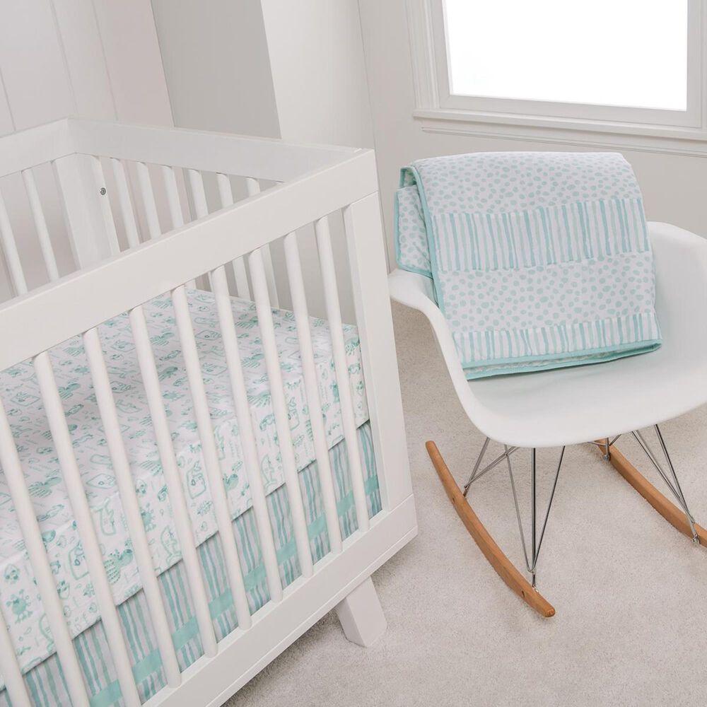 Trend Labs Taylor 3-Piece Crib Bedding Set in Aqua, , large