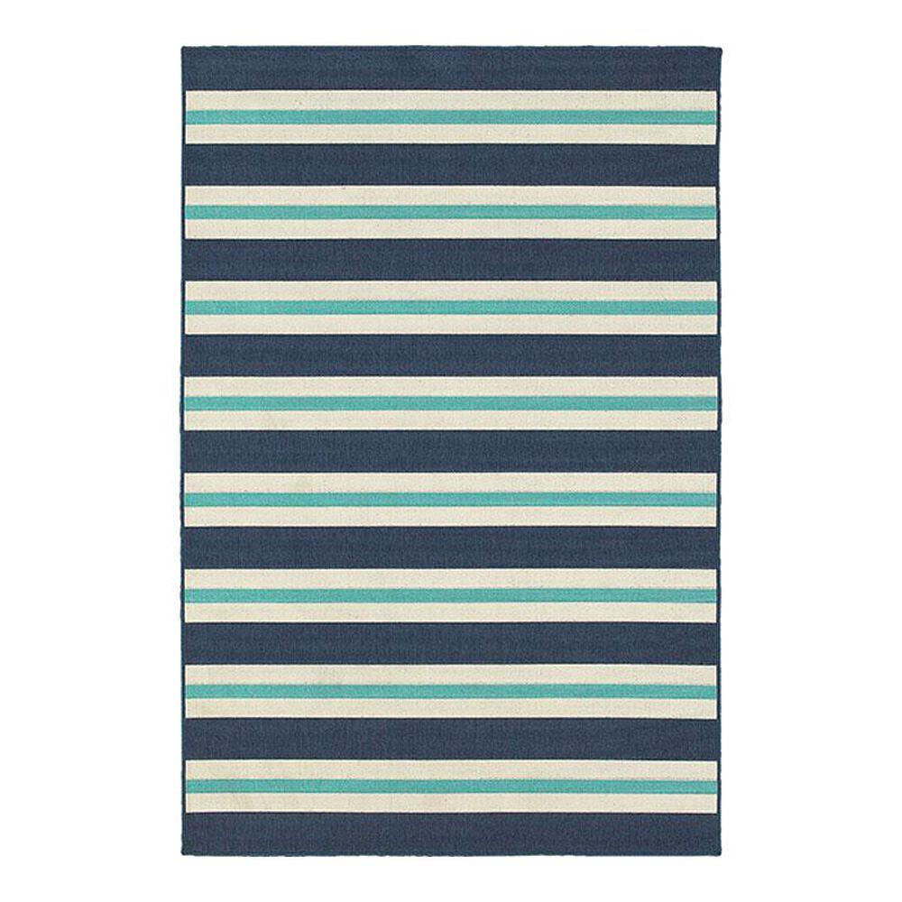 "Oriental Weavers Meridian 5701B 8'6"" x 13' Blue Area Rug, , large"