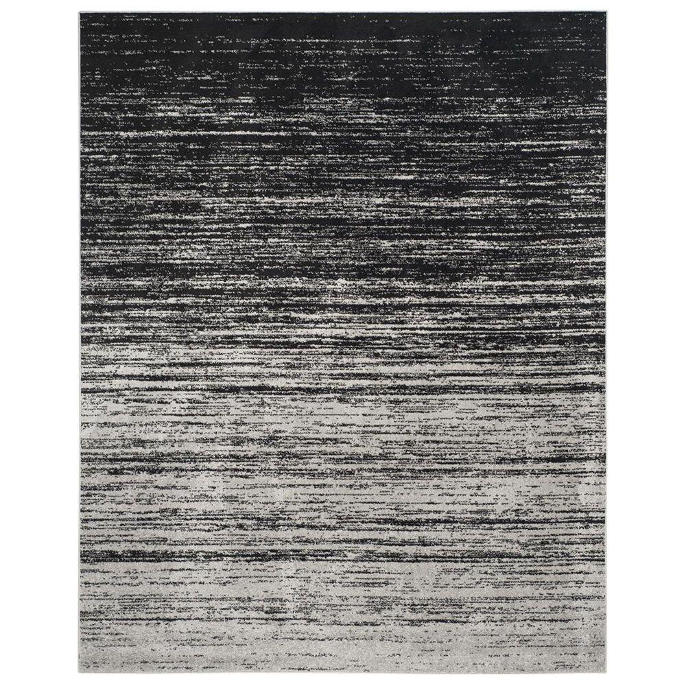 Safavieh Adirondack ADR113A-10 10' x 14' Silver/Black Area Rug, , large