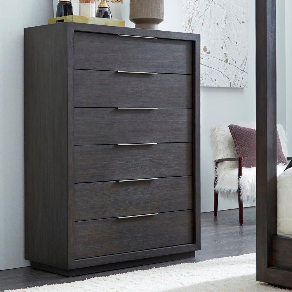 Living Essentials Oxford 6 Drawer Dresser in Basalt Grey, , large
