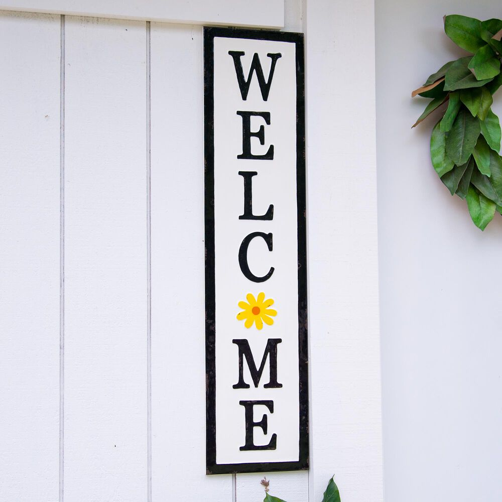 """VIP Home and Garden American Mercantile """"Welcome"""" Sign, , large"""
