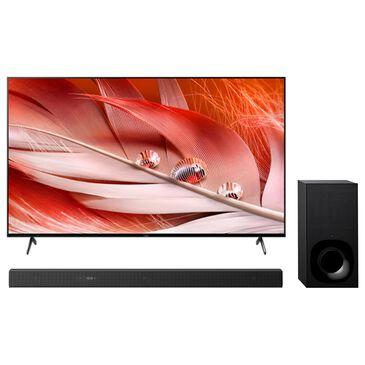 "Sony 55"" X90J Class 4K LED UHD HDR - Smart TV with 3.1 Channel Soundbar System, , large"