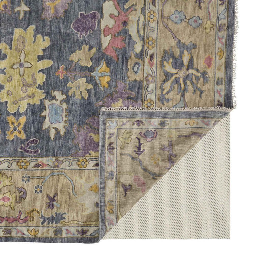 """Feizy Rugs Karina 2'6"""" x 8' Blue and Beige Runner, , large"""