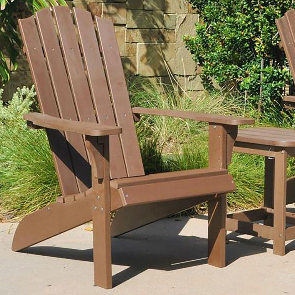 RedOak Creations Element Adirondack Chair in Brown, , large