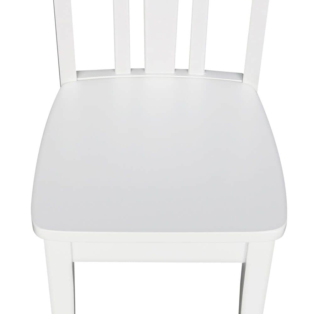 International Concepts San Remo Juvenile Chairs in White (Set of 2), , large