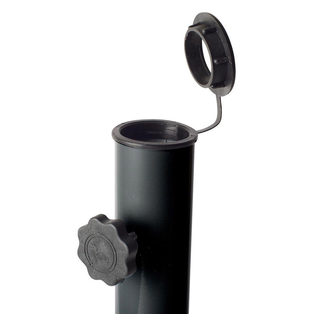 CorLiving Patio Umbrella Stand in Dark Grey, , large