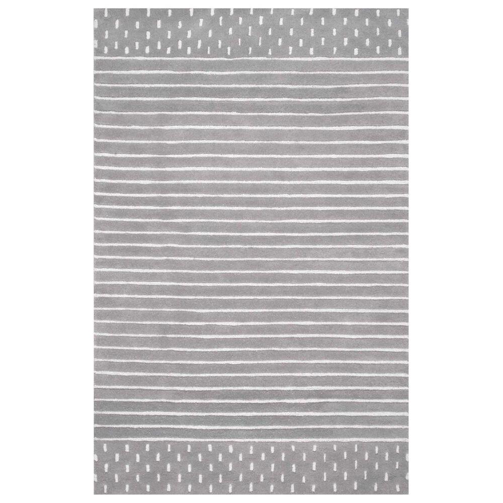 nuLOOM Nora MTNR01B 4' x 6' Grey Area Rug, , large