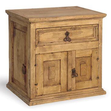 Santa Fe Rustic Tablero One Drawer Two Door Bureau in Light Wood, , large