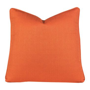 "Aria Designs 22"" x 22"" Single Toss Pillow in Orange, , large"