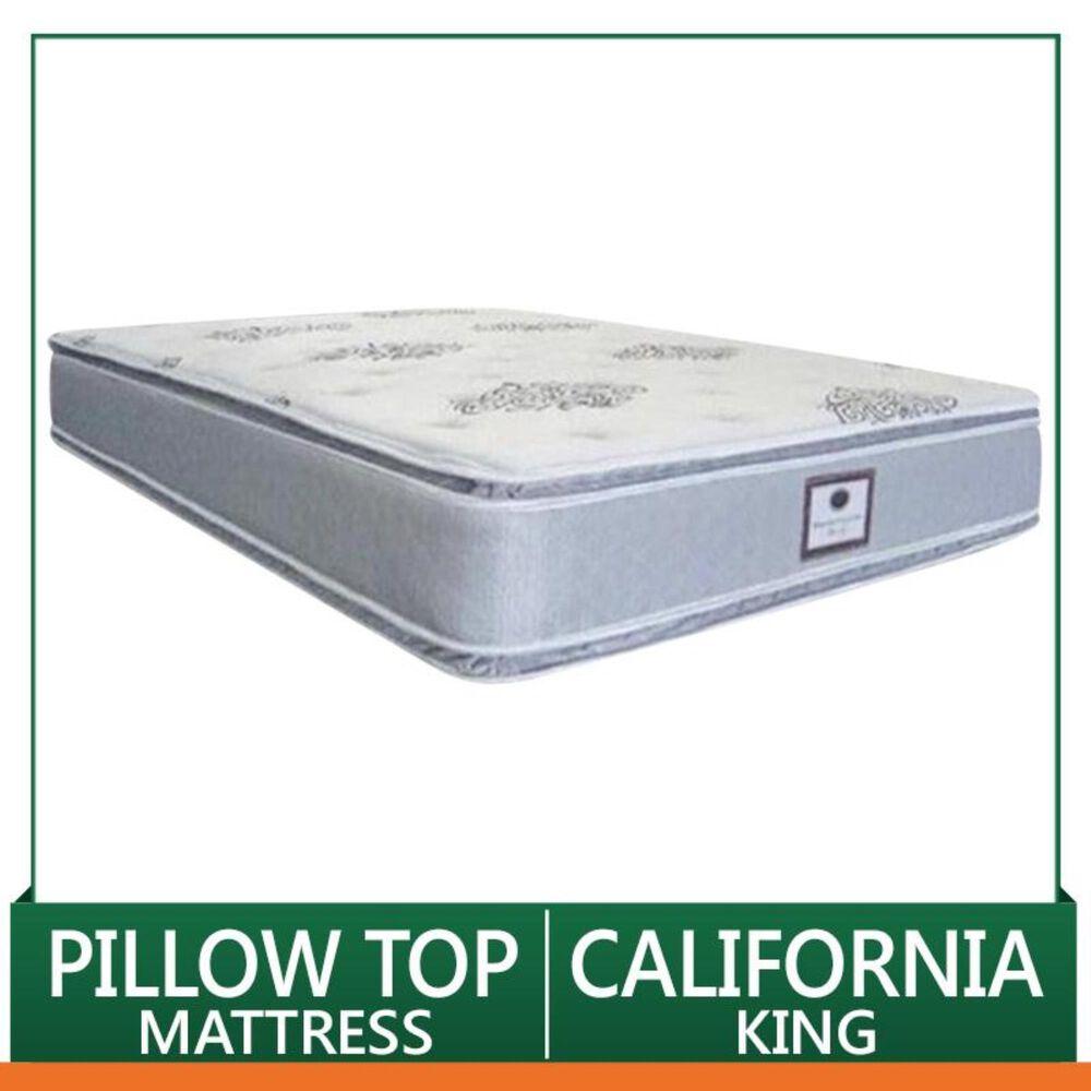 Omaha Bedding Ultra Rest Pillow Top Plush California King Mattress Only, , large