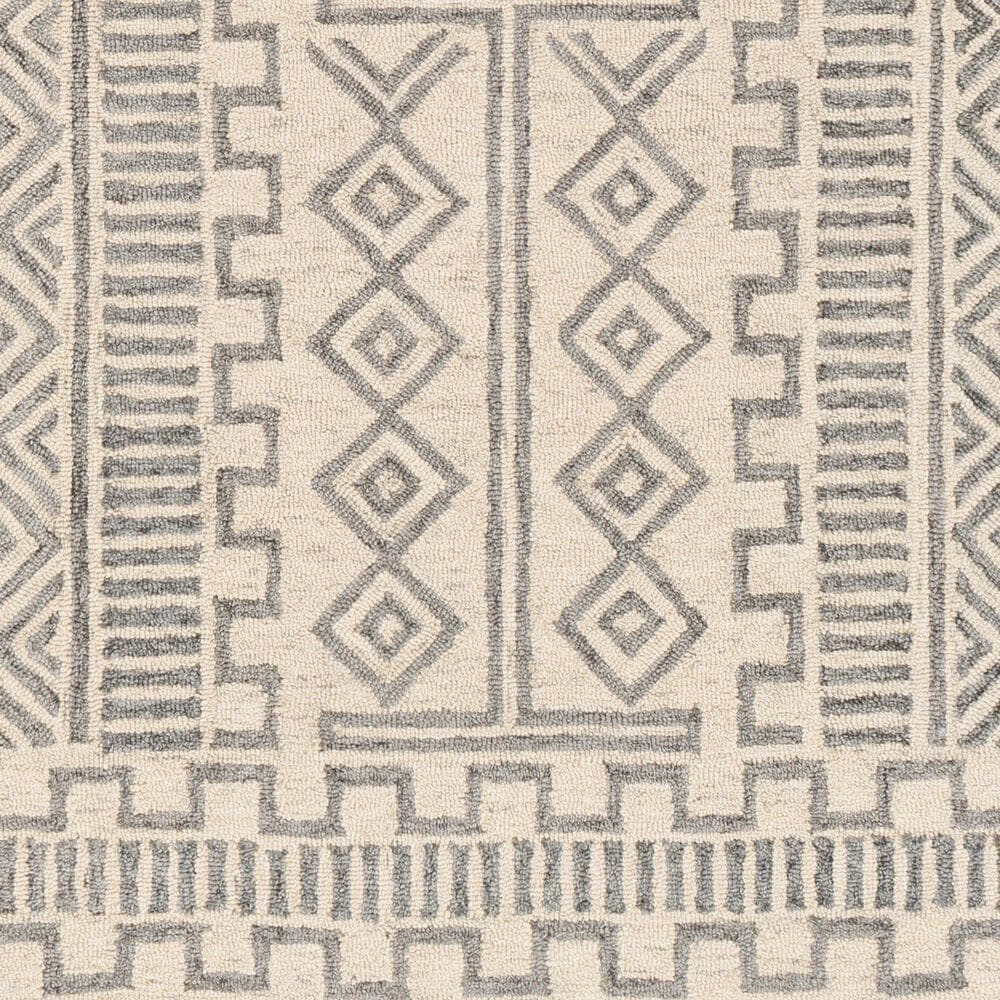 """Surya Granada GND-2325 5' x 7'6"""" Medium Gray, Beige and Charcoal Area Rug, , large"""