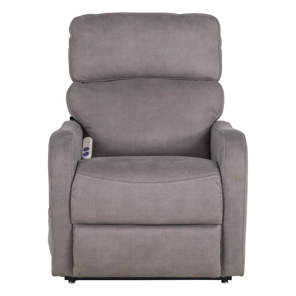 Motion Magic Lift Recliner in Stonewash Silver, , large
