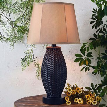 Kenroy Sunset Outdoor Table Lamp in Bronze, , large