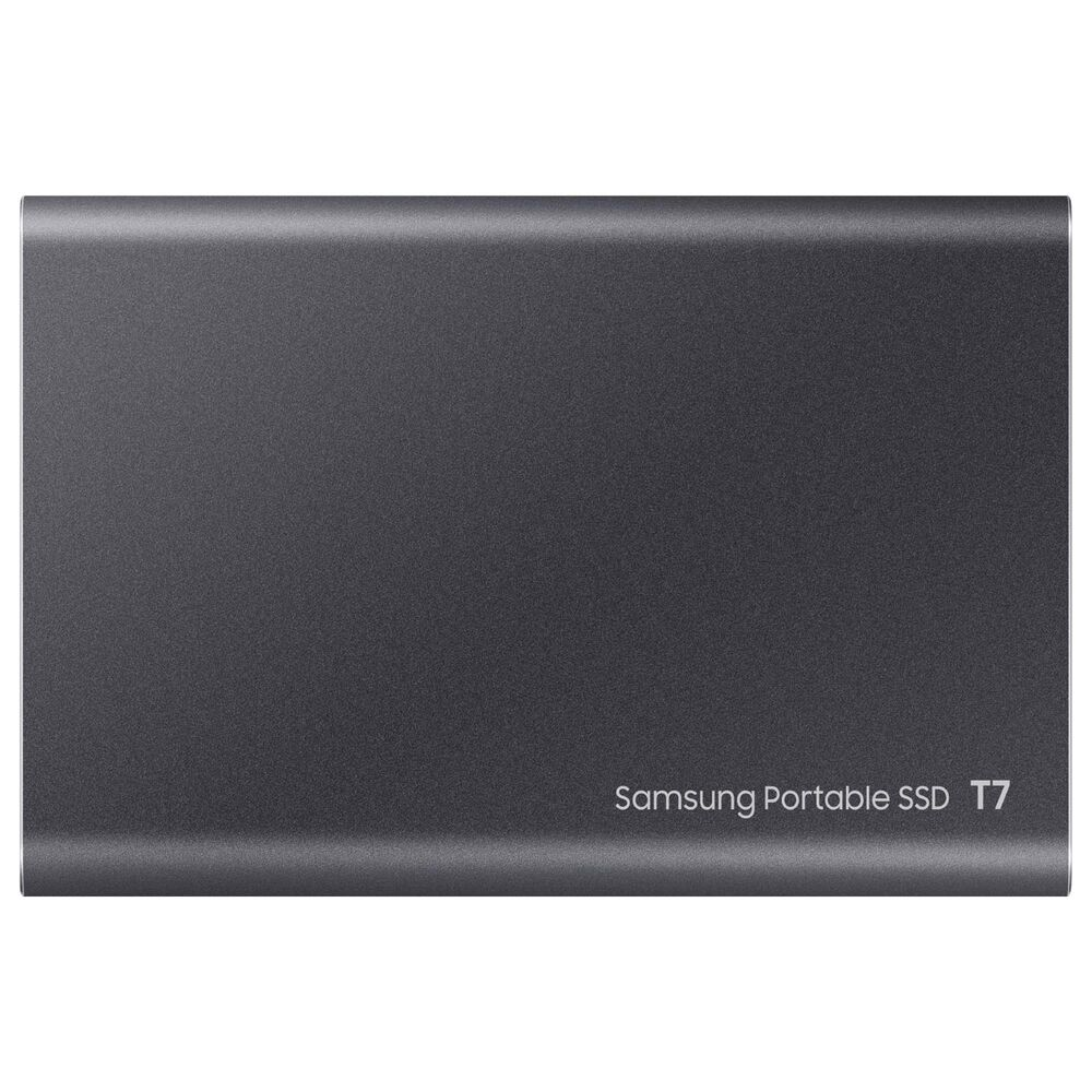 Samsung T7 500GB Portable SSD External Hard Drive in Gray, , large