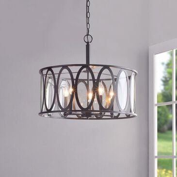 Kenroy Prince 5-Light Pendant in Oil Rubbed Bronze, , large