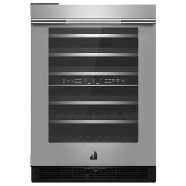 """Jenn-Air RISE 24"""" Left Swing Built-In Under Counter Wine Cellar in Stainless Steel, , large"""