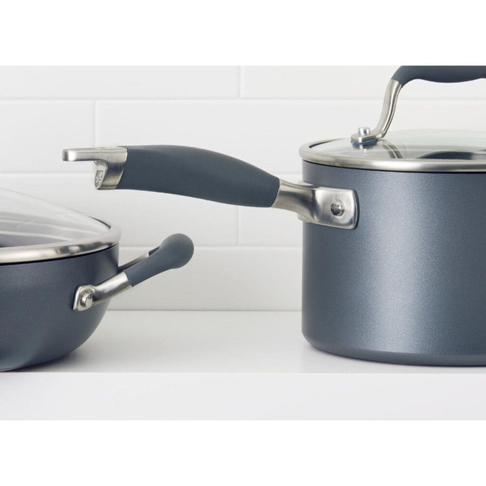 """Anolon 12"""" Covered Ultimate Pan in Moonstone, , large"""