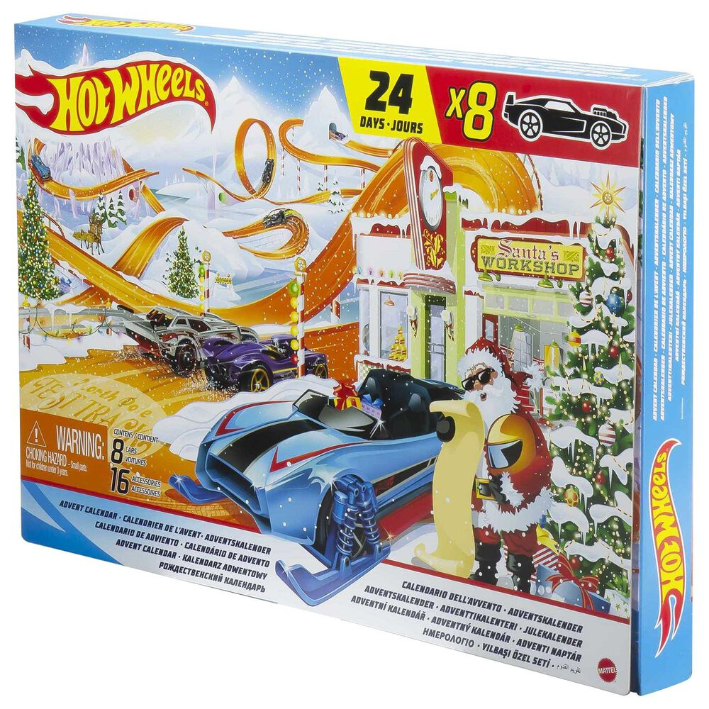 Hot Wheels Advent Calendar Playset, , large