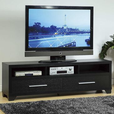 """Living Essentials 72"""" TV Stand in Black, , large"""