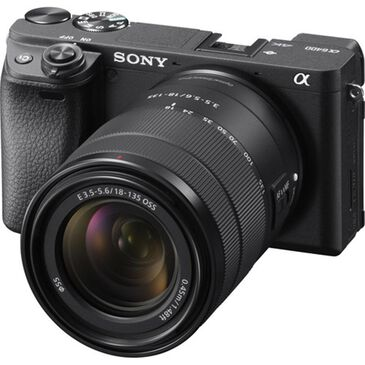 Sony Alpha a6400 Mirrorless Digital Camera with 18-135mm Lens, , large